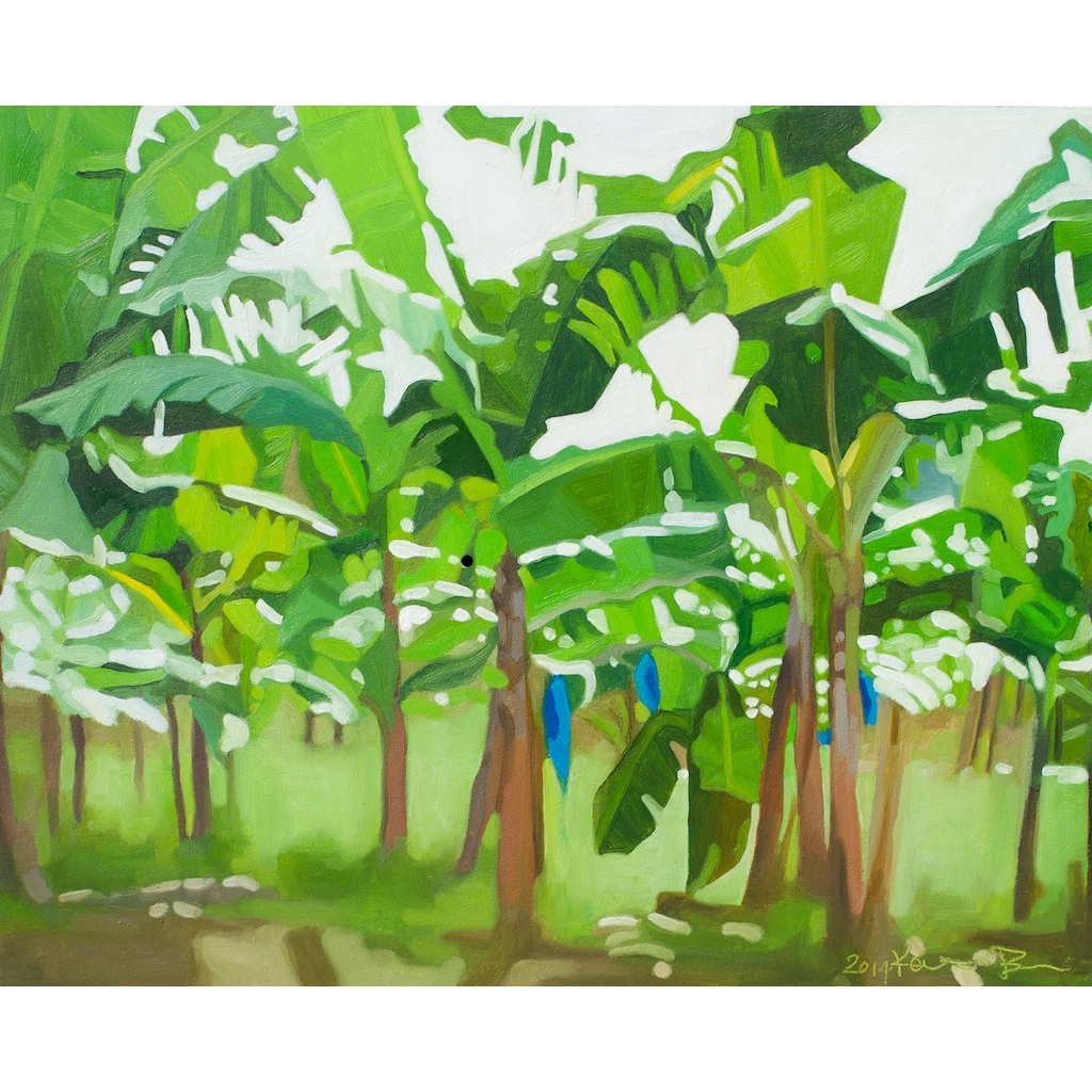Banana Trees oil painting by Katrie Bonanno