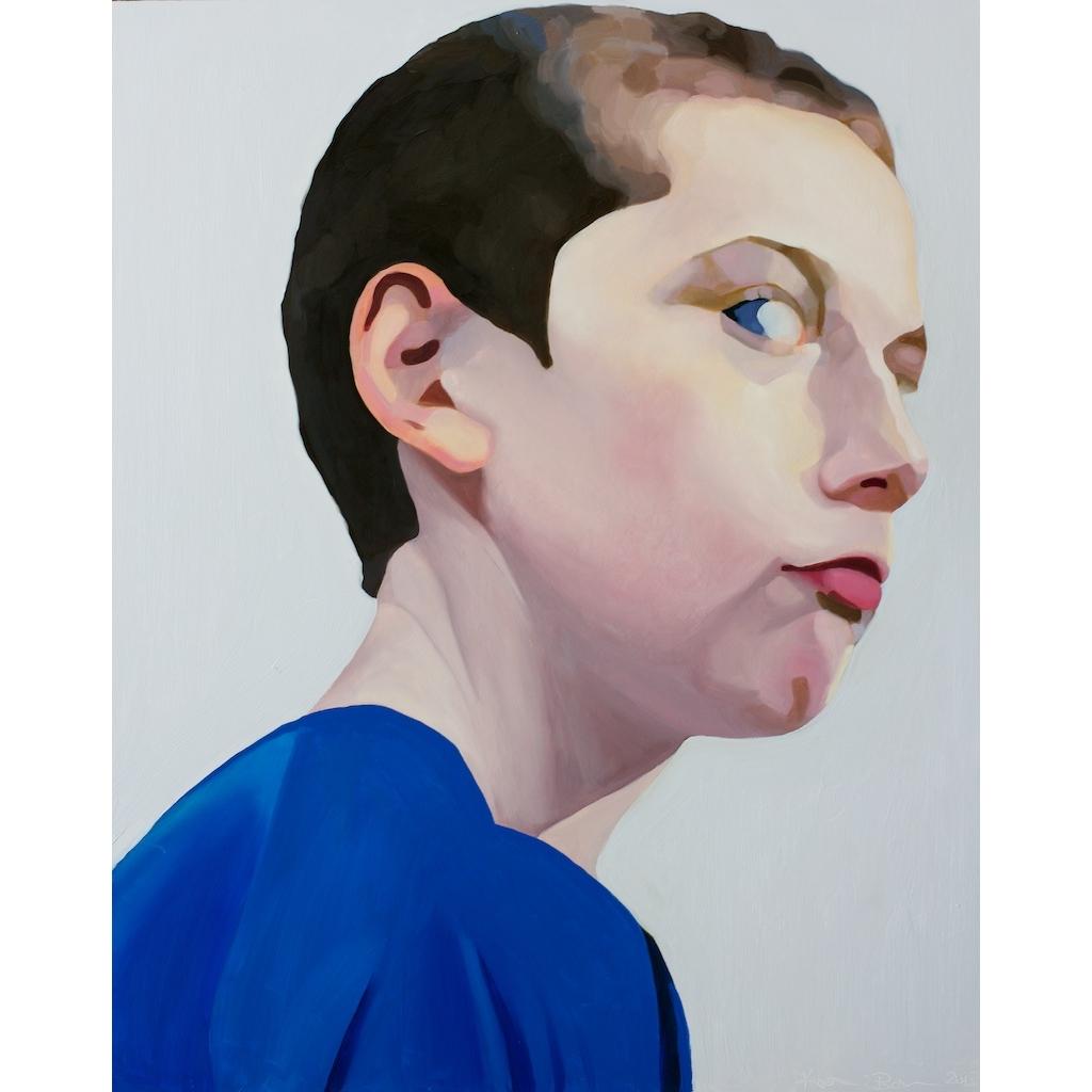 oil portrait by Katrie Bonanno